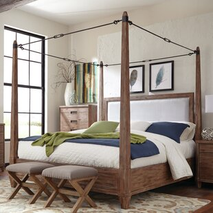 Magdaleno Upholstered Canopy Bed