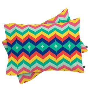 Juliana Curi Chevron 5 Pillowcase