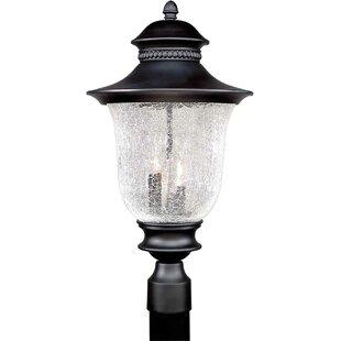 Rockmill Cast Aluminum 3-Light Lantern Head by Three Posts