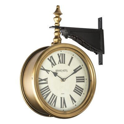 vintage grand double wall clock