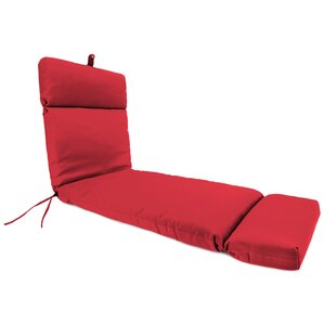 outdoor red sunbrella chaise lounge cushion - Sunbrella Replacement Cushions