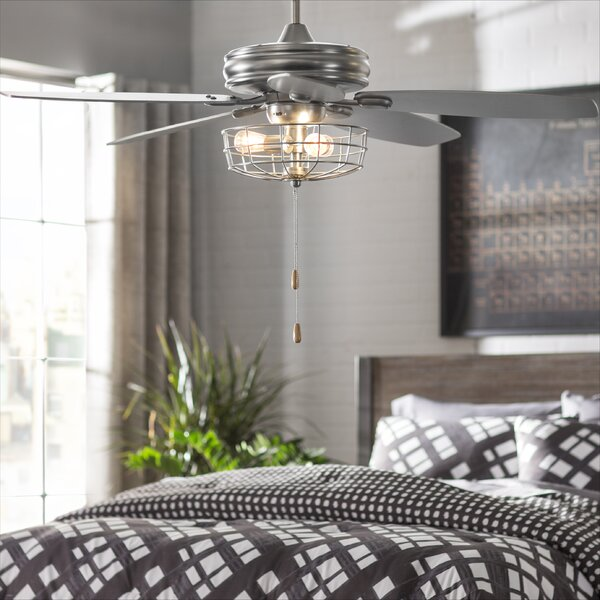 Trent Austin Design 52 Kyla 5 Blade Ceiling Fan Reviews Wayfair