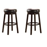 Darcella Swivel Bar & Counter Stool (Set of 2) by Charlton Home®