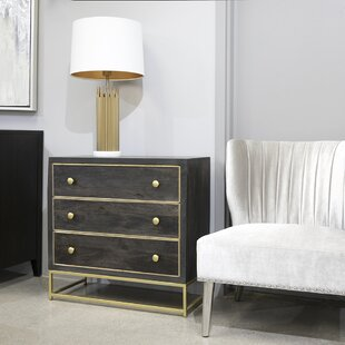 Abou 3 Drawer Dresser by Wrought Studio