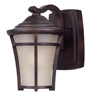 Top Reviews Douthit LED Outdoor Wall Lantern By Darby Home Co