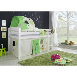 Giordano European Single Mid Sleeper Bed With Textile Set By Zoomie Kids