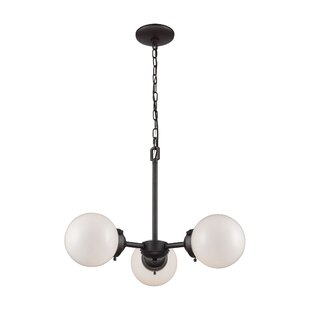 Breakwater Bay Saskia 3-Light Sputnik Chandelier