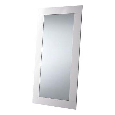 Wade Logan Cleobury Full Length Mirror Finish: White Lacquer