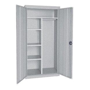 Combination 2 Door Storage Cabinet by Sandusky Cabinets