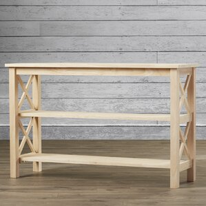 Unfinished Console Tables Birch Lane