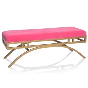 Delanie Upholstered Bench by Everly Quinn