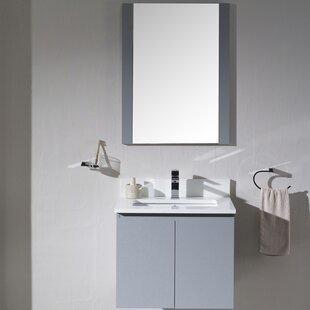 Maly 25 Single Bathroom Vanity Set with Mirror ByOrren Ellis