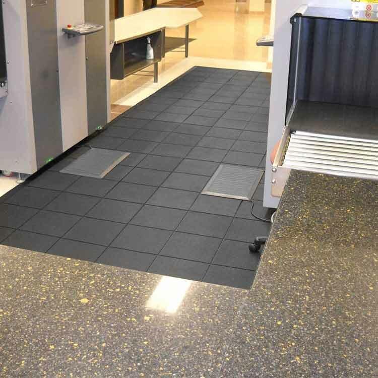 Revolution Interlocking Rubber Tiles