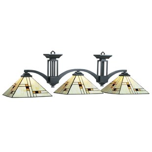 RAM Game Room Brooklyn 3-Light Billiards Light