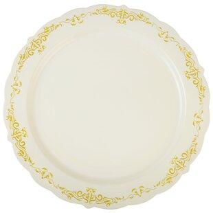 Heritage Embossed Dinner Plate (Set of 12) by Fineline Settings, Inc