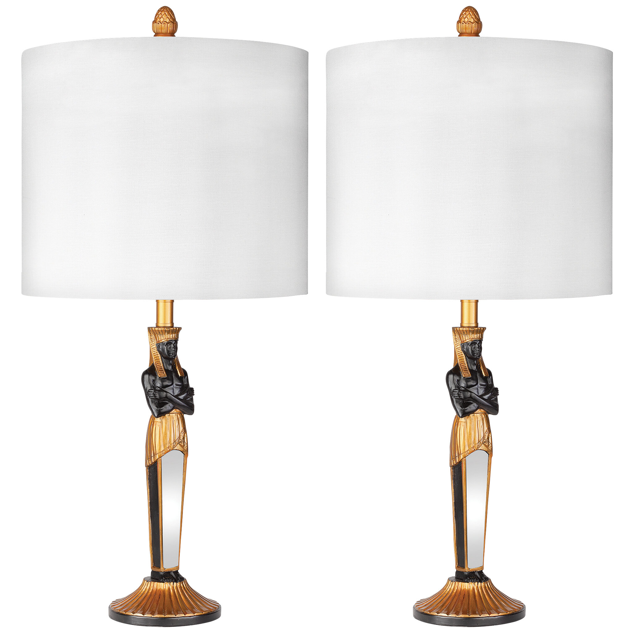 Egyptian Pharaoh 24 Table Lamp