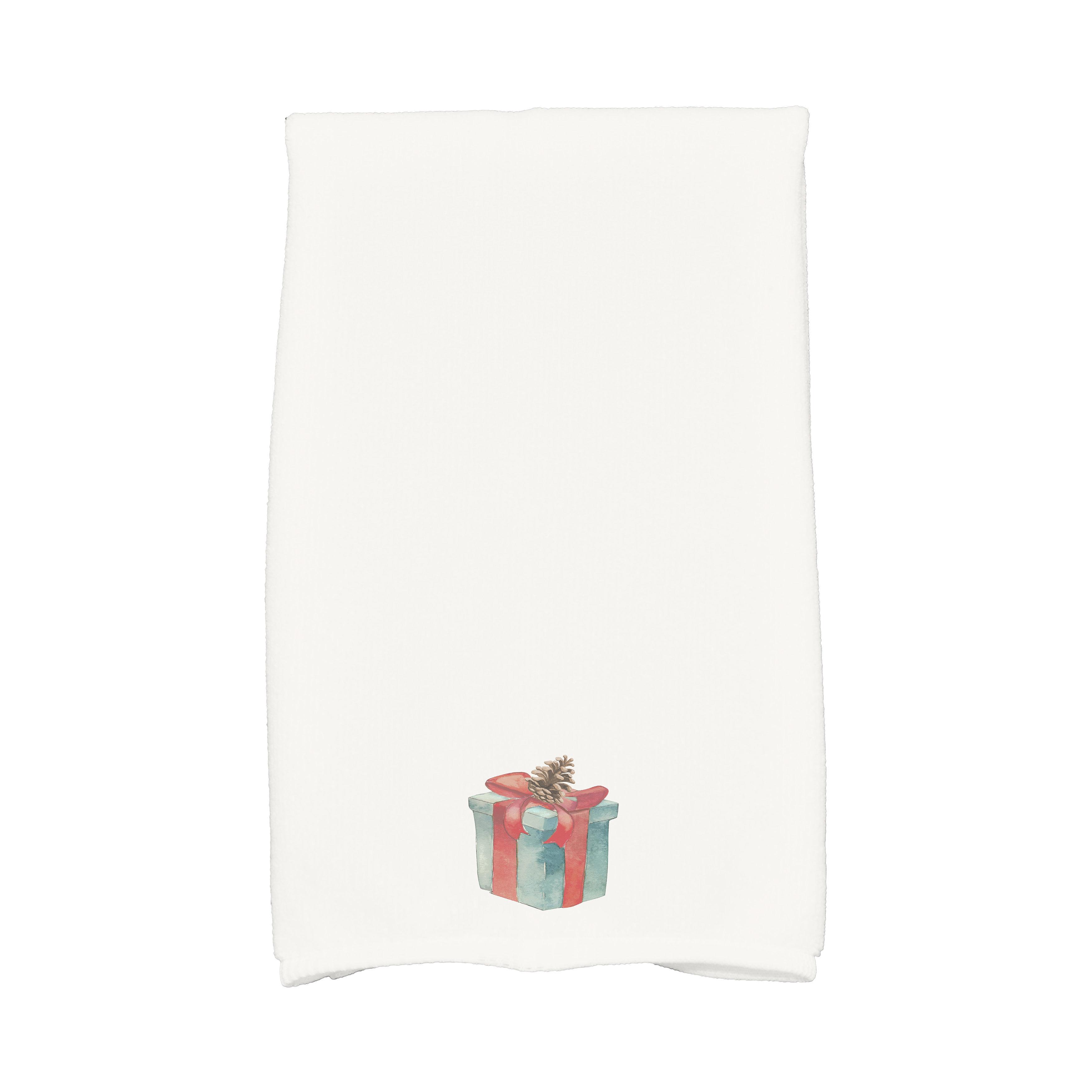 The Holiday Aisle Maselli Gift Wrapped Holiday Hand Towel Wayfair
