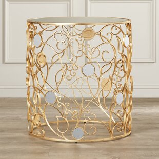Periwinkle End Table by House of Hampton