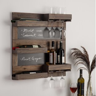 Maxson 5 Bottle Wall Mounted Wine Rack by..