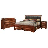 Edwardsville Platform Solid Wood Configurable Bedroom Set by Darby Home Co