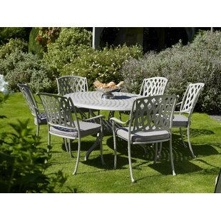 Glenoak 6 Seater Dining Set With Cushions By Sol 72 Outdoor
