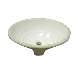 Top Reviews Classically Redefined Ceramic Oval Undermount Bathroom Sink By DECOLAV