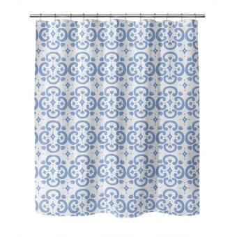 Foundry Select Crittenden Geometric Shower Curtain Wayfair