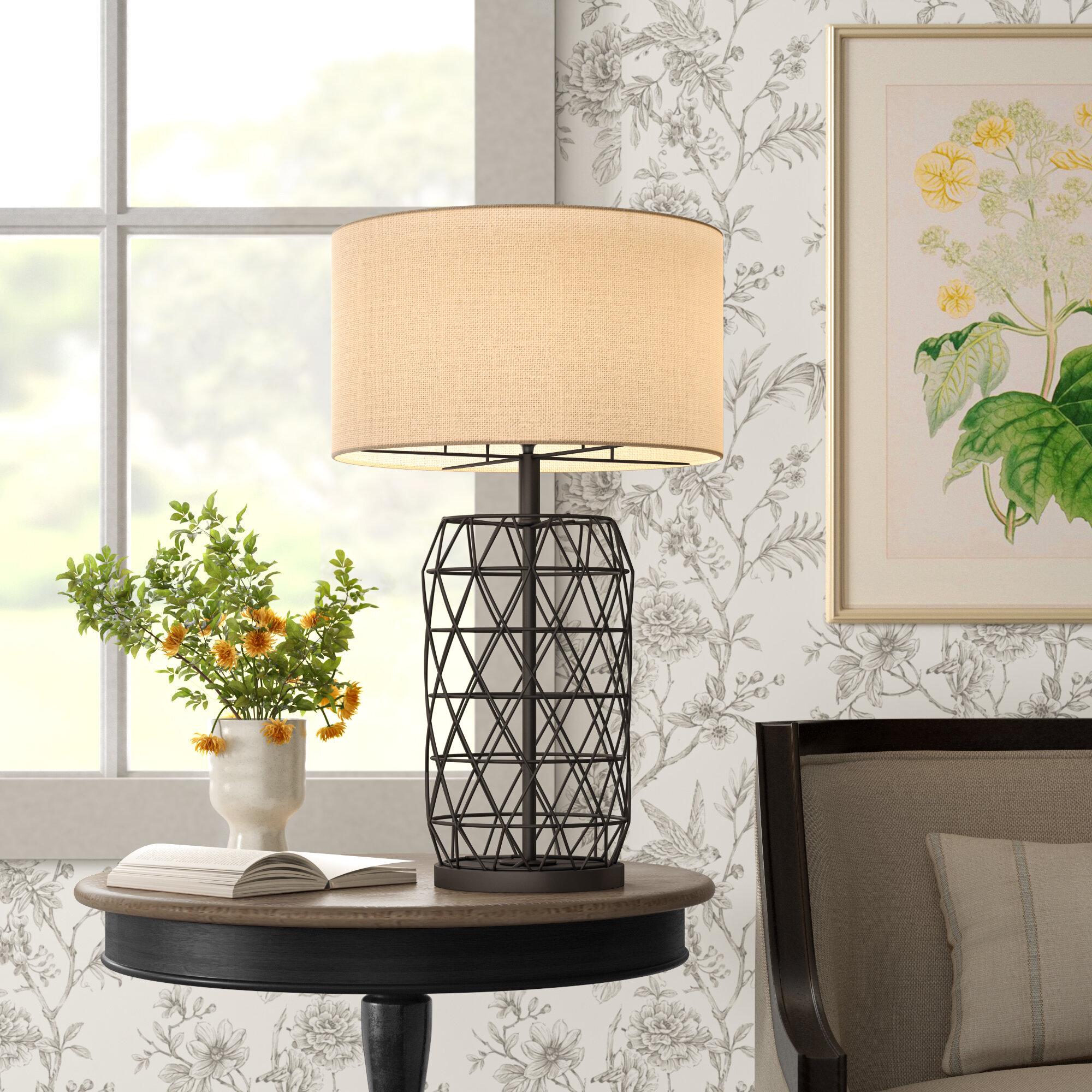 Borton 27 Black Table Lamp Reviews Birch Lane