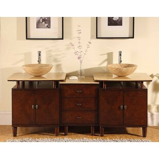 Rozier 73 Double Bathroom Vanity Set by World Menagerie