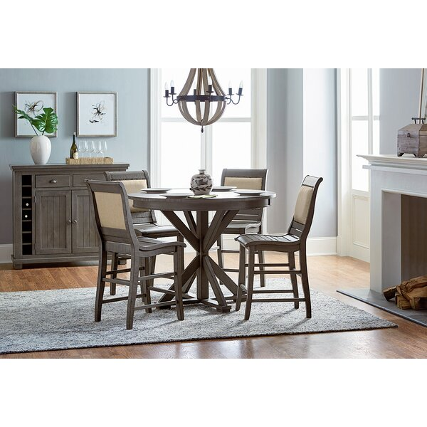 Lark Manor Epine Round Counter Height Dining Table U0026 Reviews | Wayfair