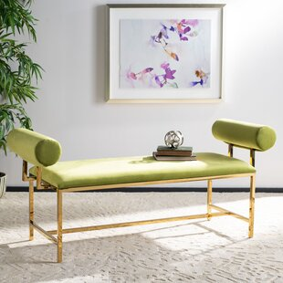 Lionel Upholstered Bench by Everly Quinn