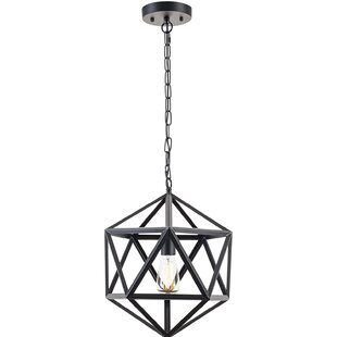Look for 1-Light Geometric Pendant By Light Society
