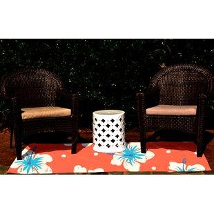 Pembrook Orange Indoor/Outdoor Area Rug