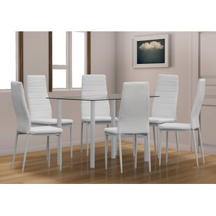 Bethlehem Dining Set With 6 Chairs By Mercury Row