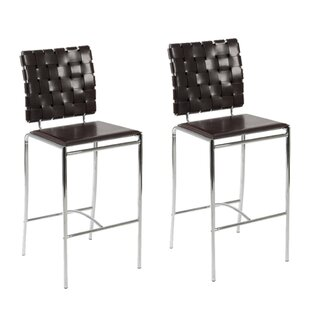 Amundsen Contemporary 26 Bar Stool (Set of 2) Orren Ellis