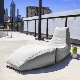Jaxx Prado Outdoor Bean Bag Chaise Lounge Chair