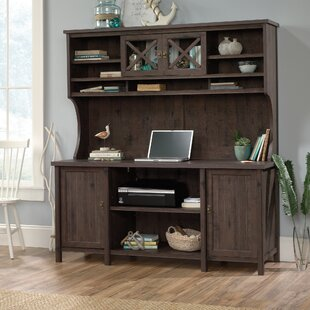 Shelby Campbell Credenza Desk with Hutch