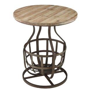 Wilde End Table By Gracie Oaks