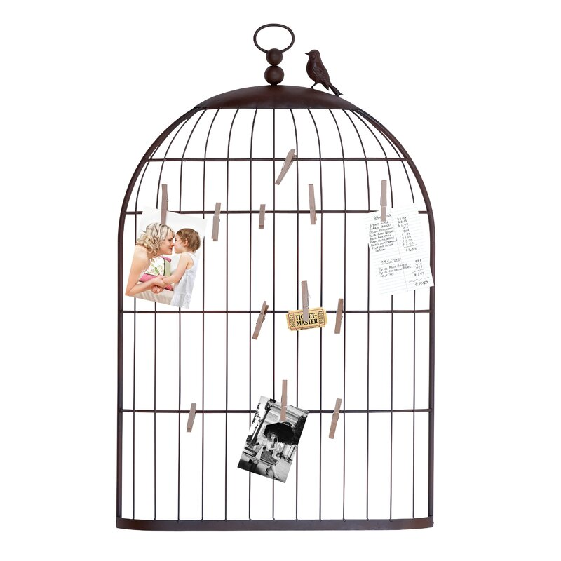 Birch Lane™ Birdcage Photo Holder & Reviews | Birch Lane