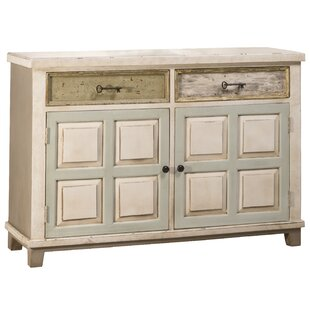 Zettie 2 Drawer 2 Door Accent Cabinet