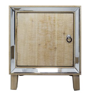 Pellegrin 1 Door Accent Cabinet by House of Hampton