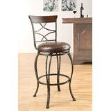 Enfield 29 Swivel Bar Stool (Set of 2) by Fleur De Lis Living