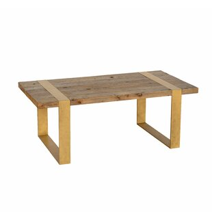 Brayden Studio Gloversville Reclaimed Elm Coffee Table