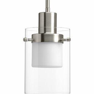 Latitude Run Hanke 1-Light Cylinder Pendant