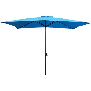 Bradford 10' x 6.5' Rectangular Market Umbrella