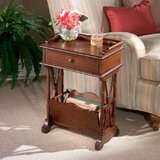 Lamkin End Table with Storage by Alcott Hill®