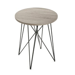 Hemby Round Side Table By Mercury Row