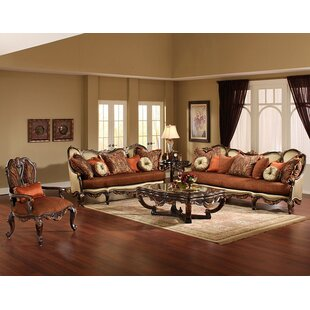 Abrianna 2 Piece Coffee Table Set Benetti's Italia