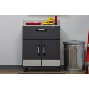 Boss 41 H x 29.7 W x 19.7 D 2-Door 1 Drawer Storage Cabinet by Altra Furniture