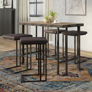 Calistoga Counter 5 Piece Pub Table Set Union Rustic